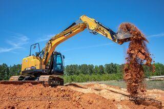 Sany SY155U 16 tonni kompakt saha ja giljotiiniga