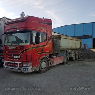 Scania G480 V8 353kW