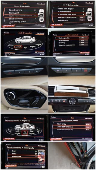 Audi A8 QUATTRO LANG 360K SOLAR SAFETY PRO FULL 3.0 MY2015 FACELIFT 228kW