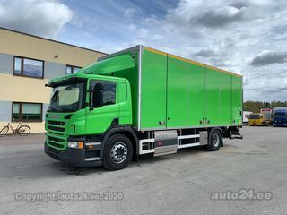 Scania P310 4x2 EURO6+CNG+SIDE OPENING 224kW