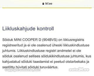 MINI Cooper D 2.0 82kW