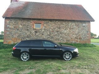 Audi A6 Avant S-Line Black Optic pakett 3.0 TDI 171kW