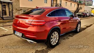 Mercedes-Benz GLE 350 Coupe 3.0 190kW