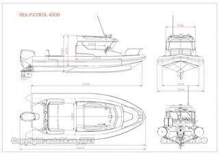 Bush Bush 645 Sea Patrol 630 suzuki 140 hp
