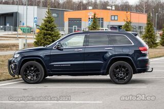 Jeep Grand Cherokee OVERLAND SUMMIT FACELIFT MY 2017 3.0 V6 DOHC 24V 184kW