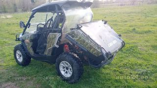 Can-Am Commander UTV + rehvid 53kW