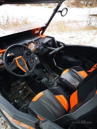 Polaris RZR 1000 turbo 4takt DOHC Twin cylinder Turbocharged 125kW