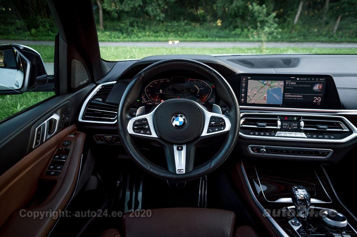 BMW X5 M-Pakett Offroad Laser h/k 3.0 195kW