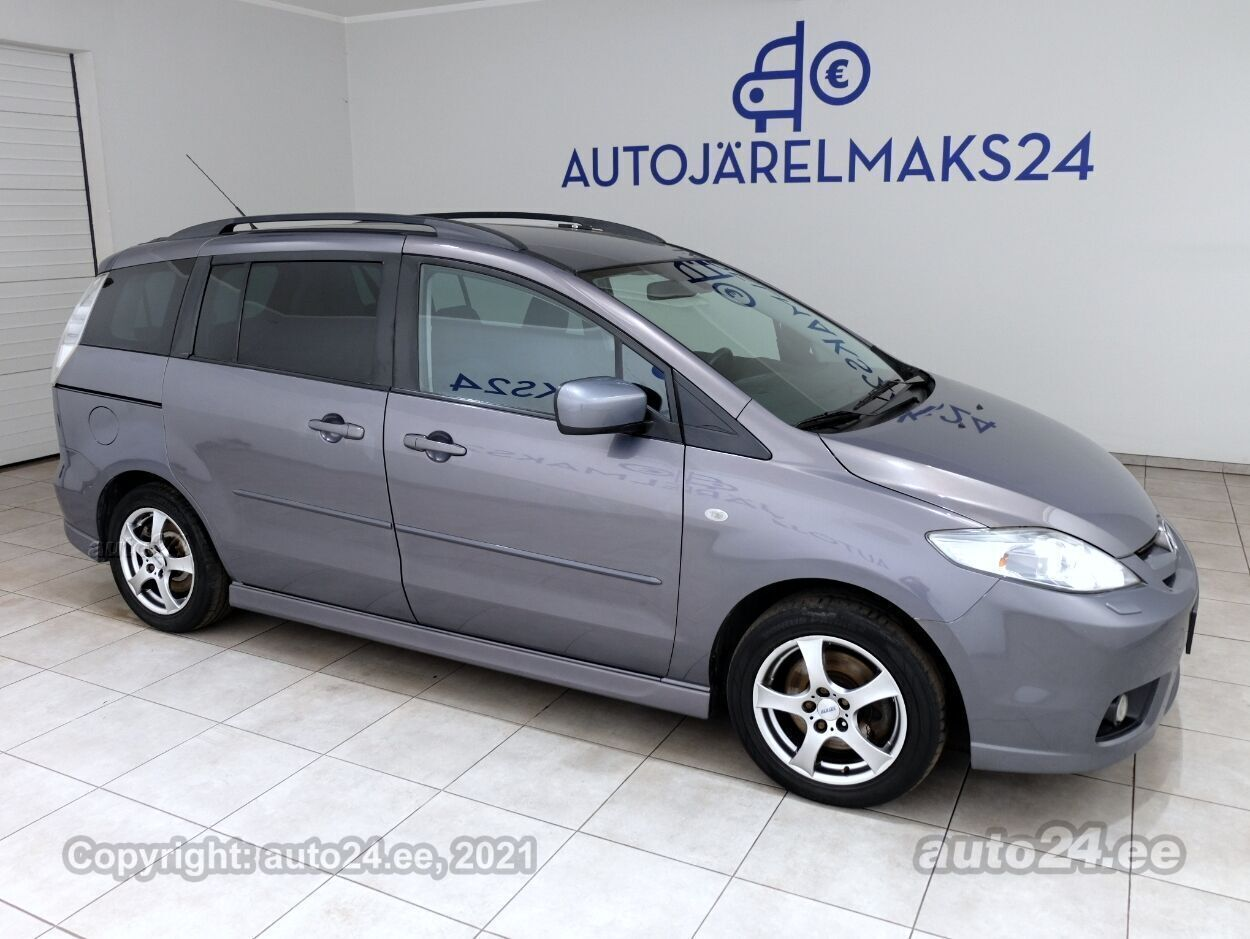 Mazda 5 Aero Facelift - Photo