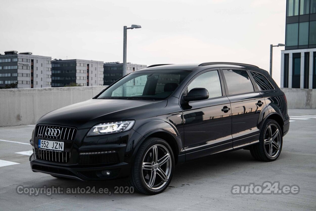 Audi Q7 FACELIFT 2xS-line - Photo