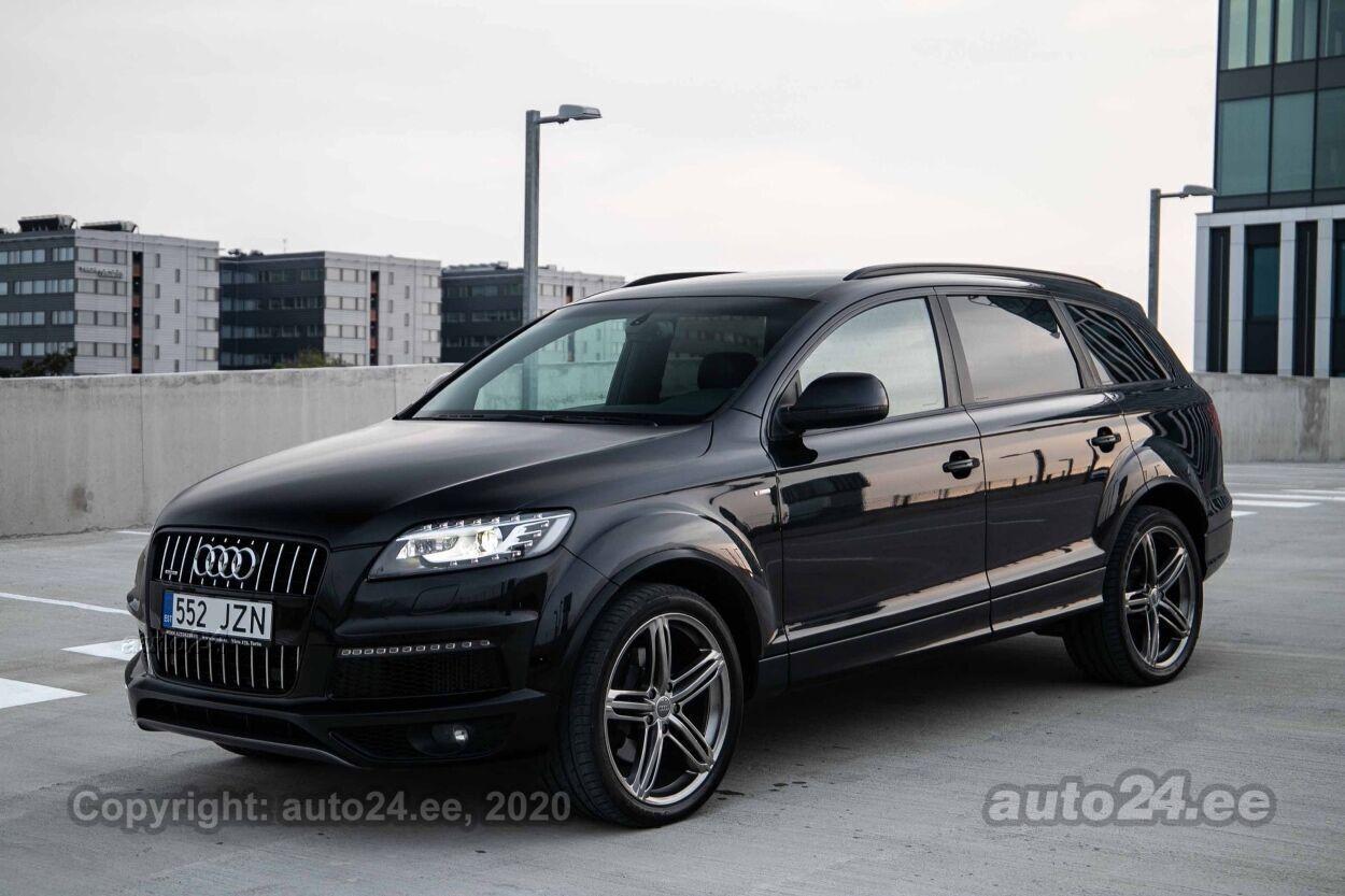 Audi Q7 FACELIFT 2xS-line - Photo