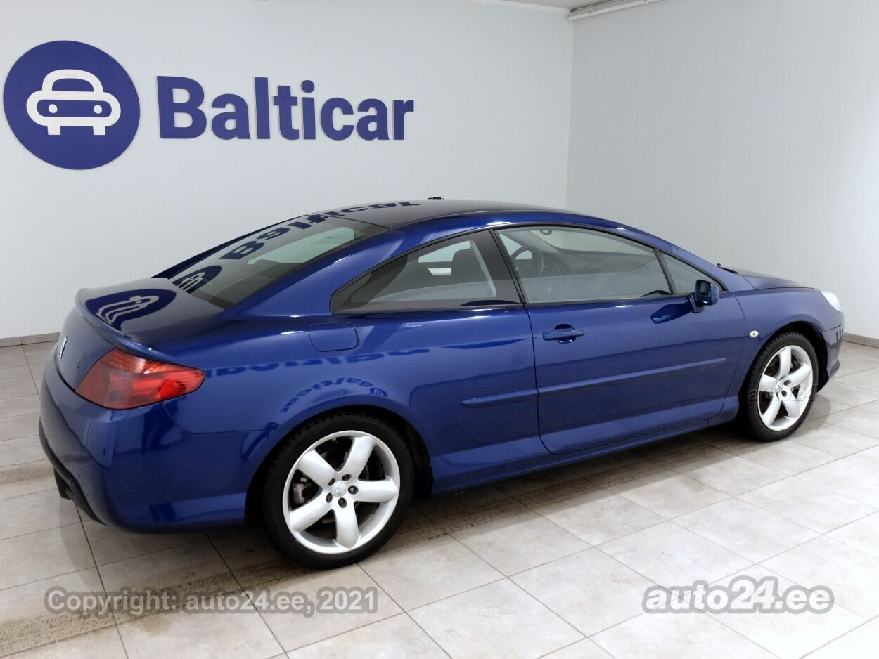 Peugeot 407 Coupe Comfort ATM 2.7 HDI 150 kW - Photo 3