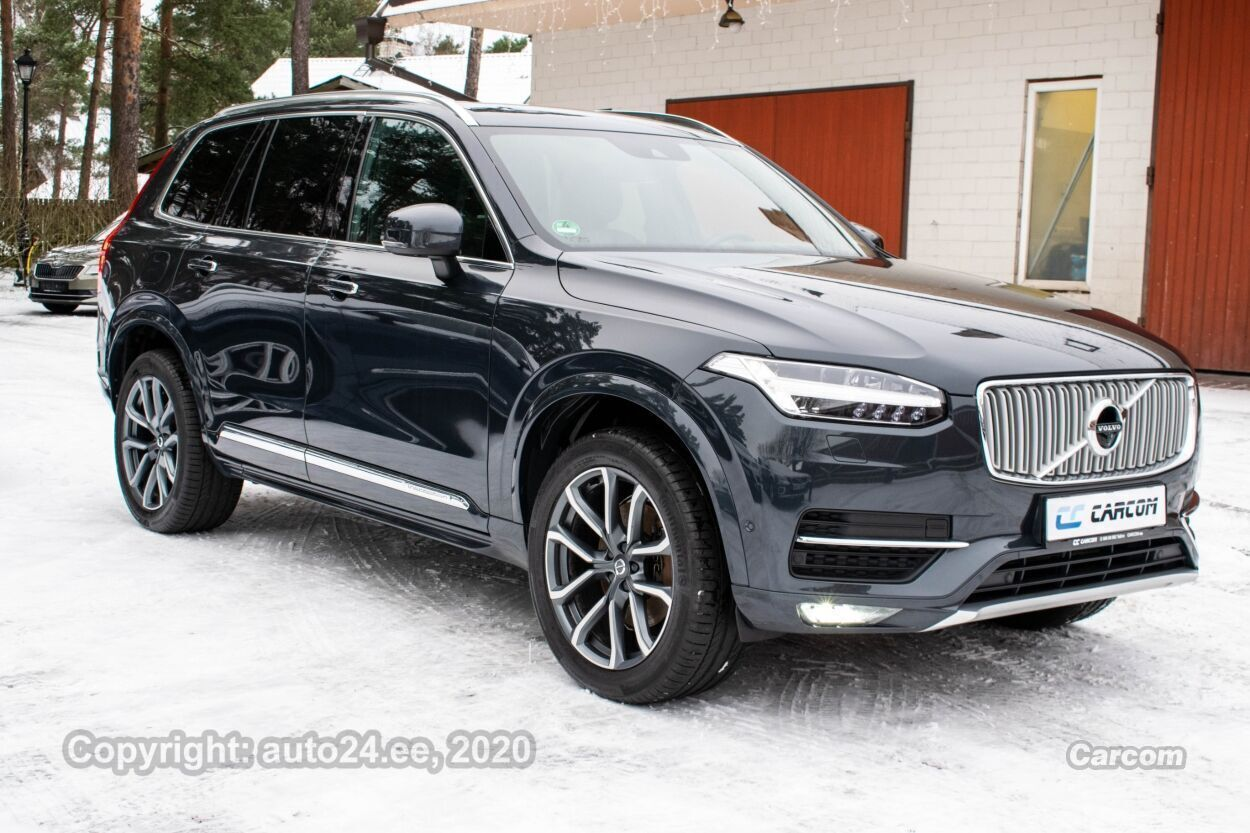Volvo XC90 7K Inscription Intelli PRO Xenium Lux MY 2018 2.0 D5 AWD Polestar 177kW 173kW