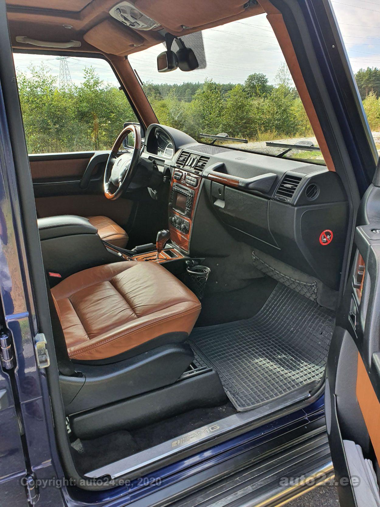 Mercedes-Benz G 55 AMG KOMPRESSOR 5.4 V8 350kW
