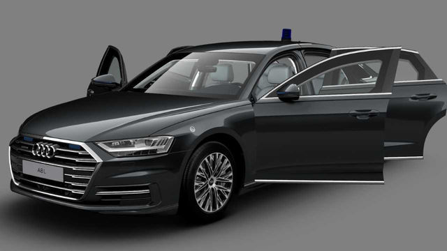 Audi A8 L Security. Foto: Audi
