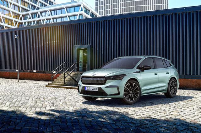 Škoda Enyaq iV hakkab Saksamaal maksma alates 33 800 eurost. Hind Eestis pole veel teada. Foto: Škoda