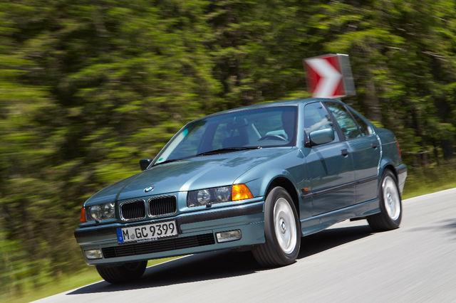 BMW 3. seeria E36. Foto: BMW