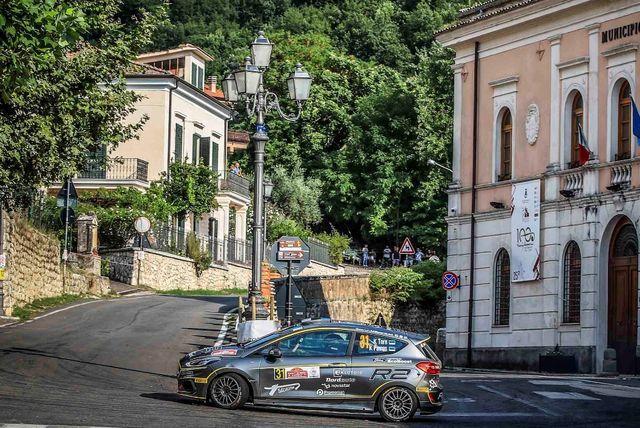 Ken Torn 2019. aasta Rally di Roma Capitalel. Foto: FIA ERC