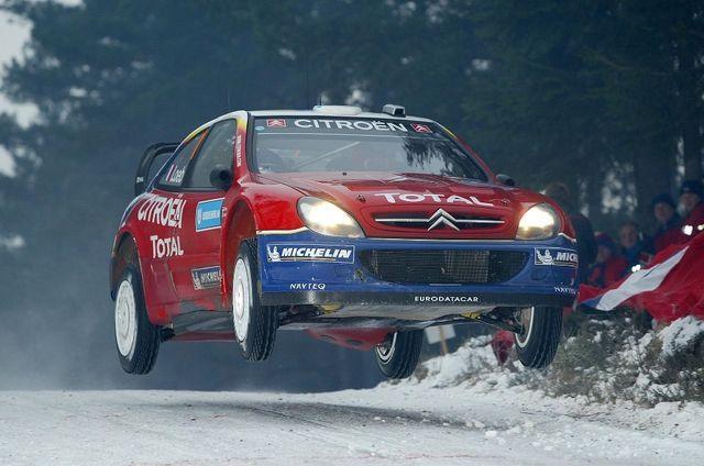 Loeb võitis kõik oma MM-tiitlid Citroenil. Foto: Citroen