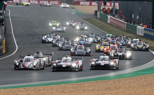 Le Mans'i start. Foto: Toyota Gazoo Racing