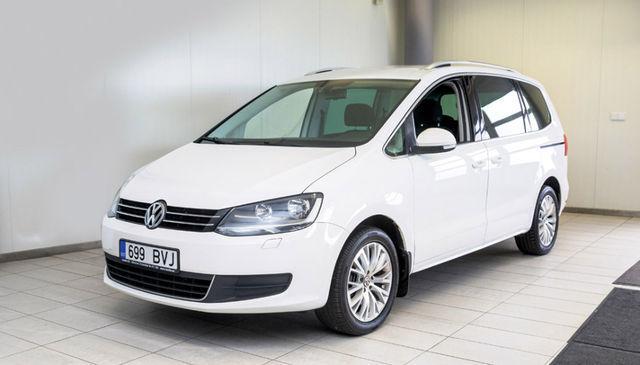 Volkswagen Sharan on ruumikas ja mugav, aga selle maine pole kiita. Vigu on, kuid mitte kõik omanikud ei kurda. Foto: Pille Russi