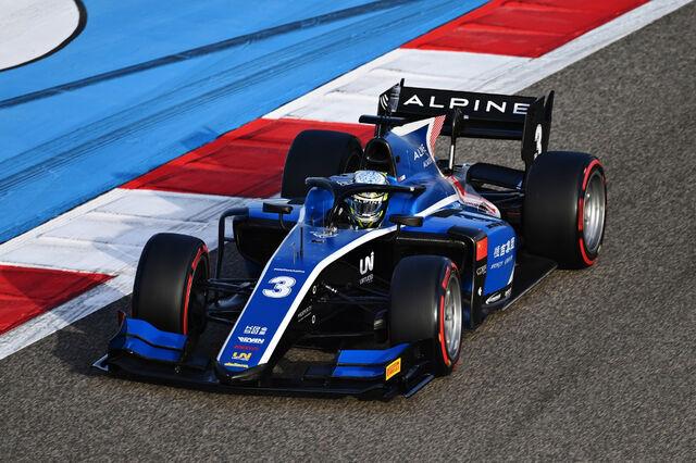 Guanyu Zhou. Foto: Formula Motorsport Limited