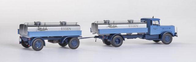 Faun F7 Milchtanker (1:87).  Foto: Weinert Modellbau