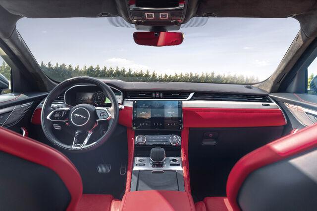 Jaguar F-Pace. Foto: Jaguar