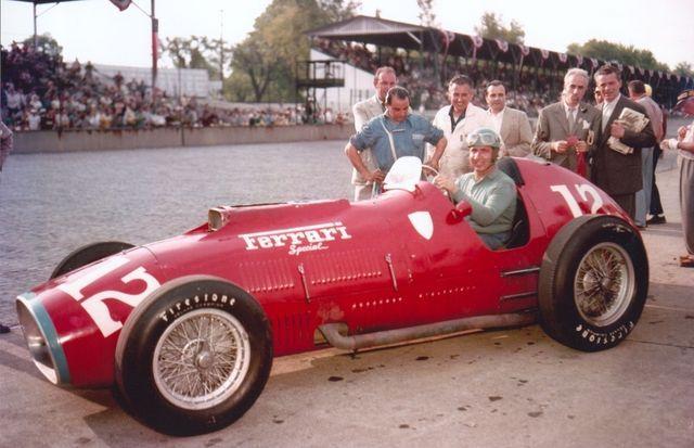 Ferrari ja Alberto Ascari 1952. aastal Indianapolises. Foto: IMS