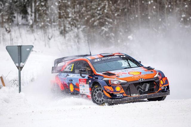 Ott Tänak / Martin Järveoja võitsid Otepääl kõik kiiruskatsed. Foto: Pille Russi