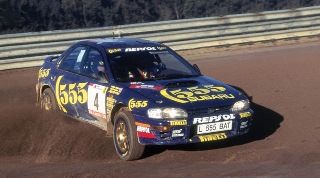 David Richards andis võimaluse Colin McRaele, kes tõi Subarule esimese MM-tiitli. Foto: Subaru