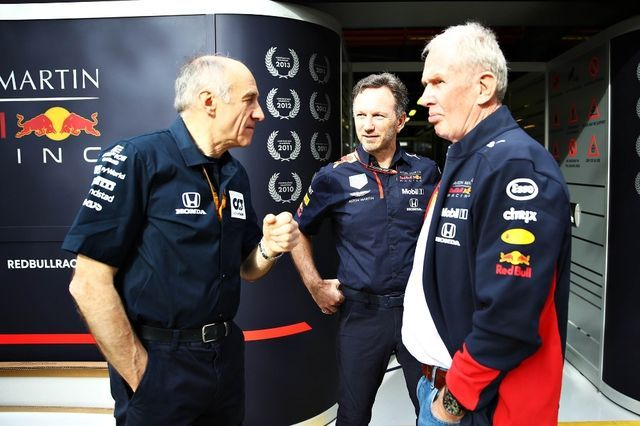 Franz Tost (vasakul). Foto: Red Bull Content Pool