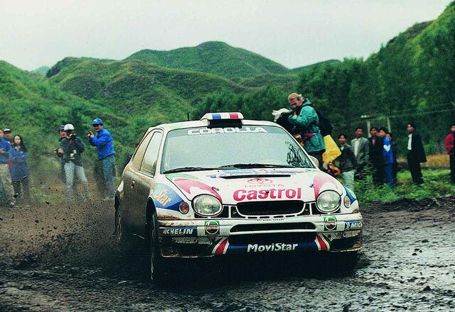 Didier Auriol 1999. aasta Hiina rallil. Foto: Toyota