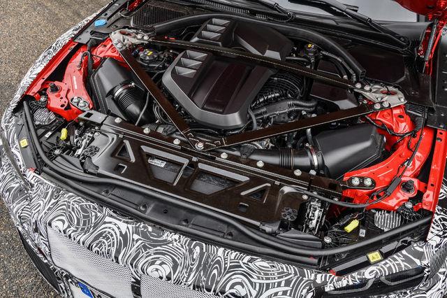 BMW M3 mootor. Foto: BMW
