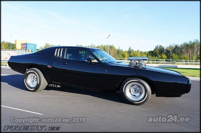1973 Dodge Charger. Foto: auto24.ee