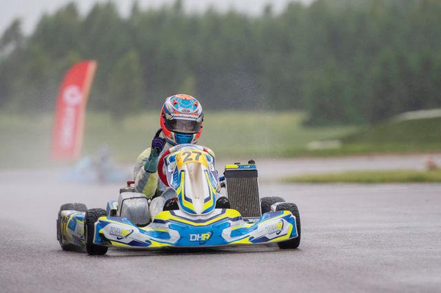 Teine järjestikune veatu sõit andis Ruben Voltile teise järjestikuse etapivõidu. Foto: Tõnis Krikk