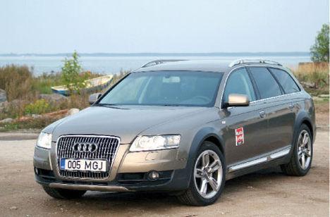 Ei saa öelda, et Audi A6 allroad quattro oleks tingimusteta kaks ühes – maastikuauto ja luksuslik universaal –, kuid peaaegu.