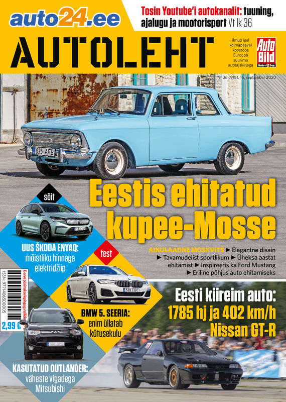 Autoleht, 16. september 2020