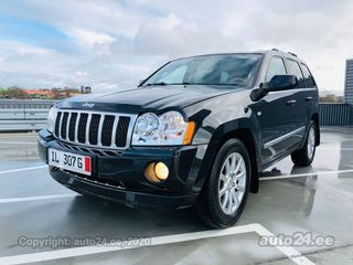 Jeep Grand Cherokee Limited Overland Edition 3.0 160kW